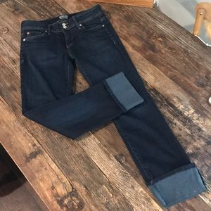 Hudson jean- Ginny Crop Straight with Cuff